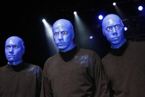 blue man group Florida thrilling attractions
