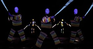 Florida shows and plays blue-man-group